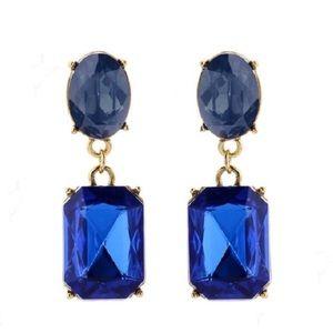 Kate Spade Crystal & Gold Dangling Drop Earrings
